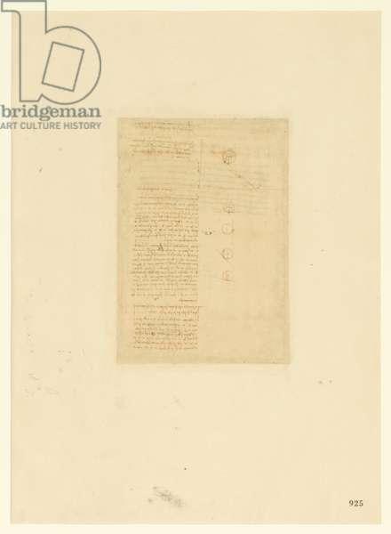 Codex Atlanticus, sheet 925 recto
