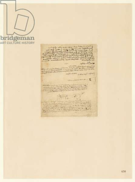 Codex Atlanticus, sheet 430 recto