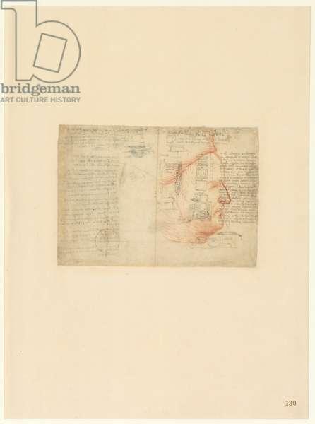 Codex Atlanticus, sheet 180 recto