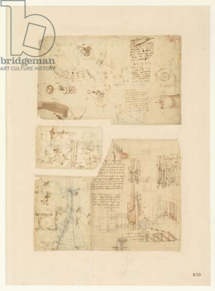 Codex Atlanticus, sheet 830 recto