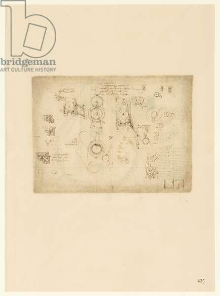 Codex Atlanticus, sheet 435 recto