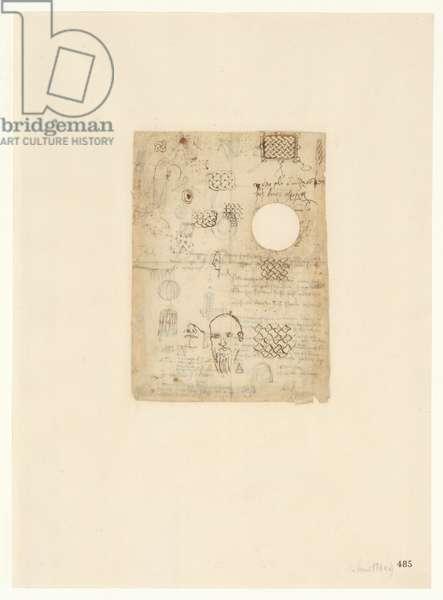 Codex Atlanticus, sheet 485 recto