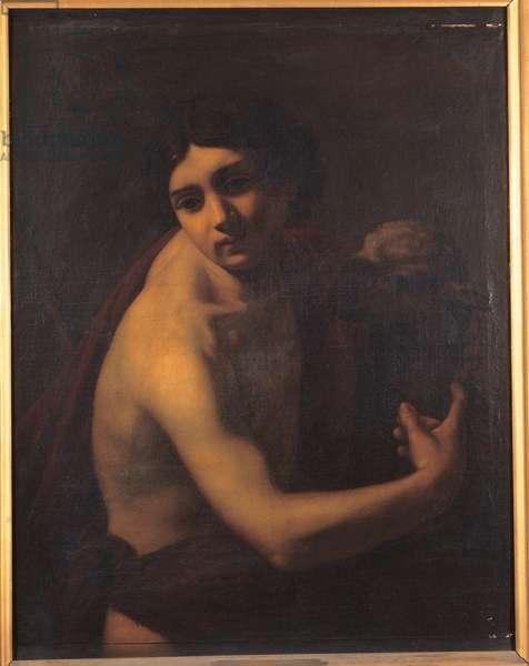 Saint John the Baptist (oil on canvas)