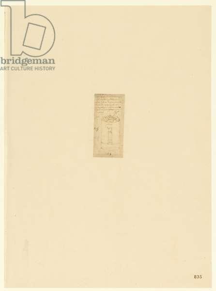 Codex Atlanticus, sheet 835 recto