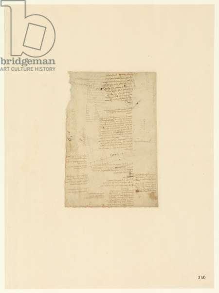Codex Atlanticus, sheet 340 recto