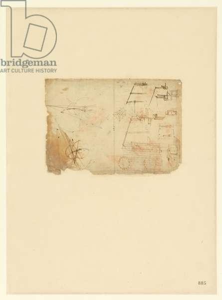 Codex Atlanticus, sheet 885 recto