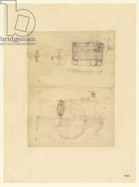 Codex Atlanticus, sheet 985 recto