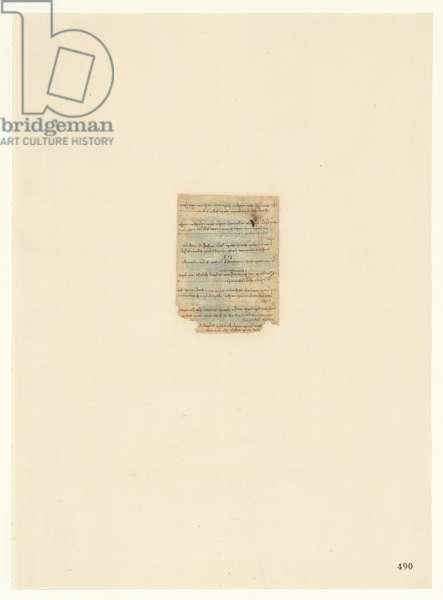 Codex Atlanticus, sheet 490 recto