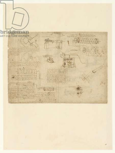 Codex Atlanticus, sheet 47 recto