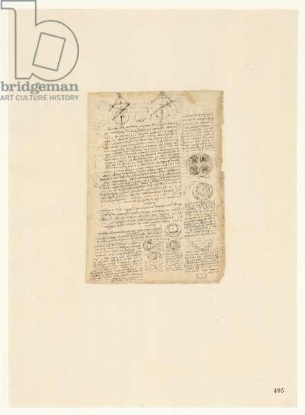Codex Atlanticus, sheet 495 recto