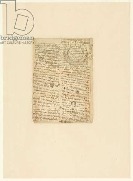 Codex Atlanticus, sheet 590 verso
