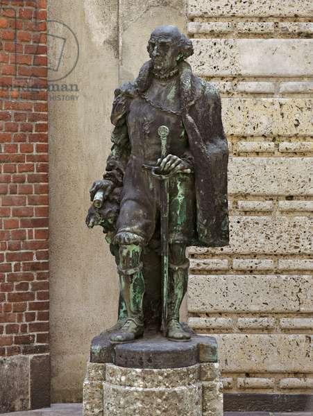 Paracelsus, 1951 (bronze)