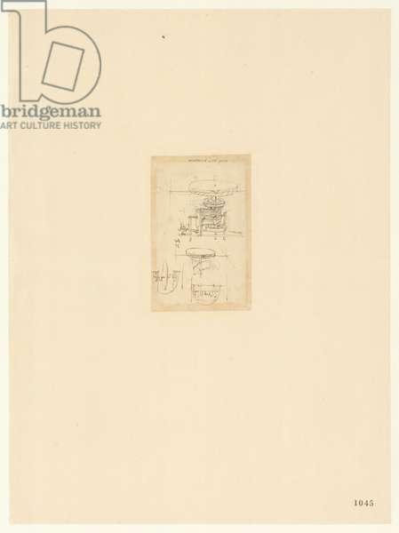 Codex Atlanticus, sheet 1045 recto