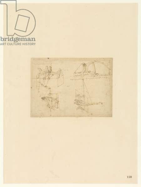 Codex Atlanticus, sheet 150 recto