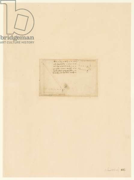 Codex Atlanticus, sheet 405 recto