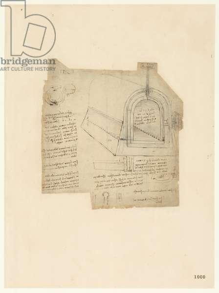 Codex Atlanticus, sheet 1000 recto