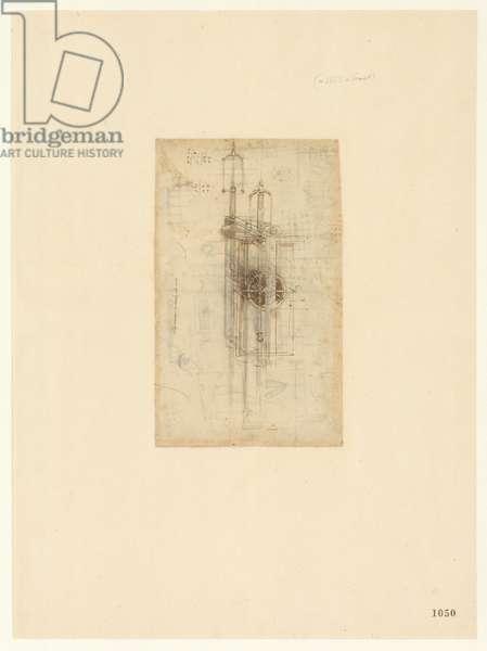 Codex Atlanticus, sheet 1050 recto