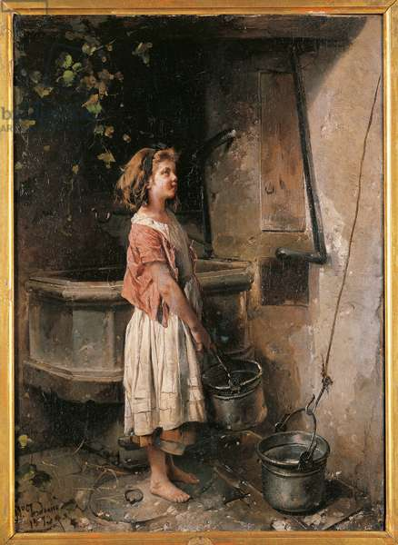 Young Woman at the Well, 1873 (oil on canvas)