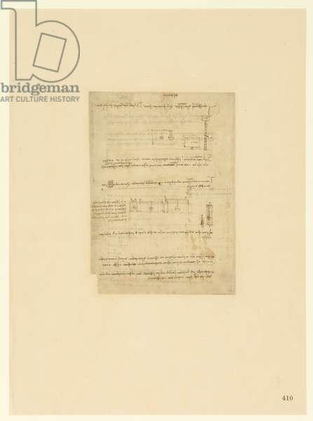 Codex Atlanticus, sheet 410 recto