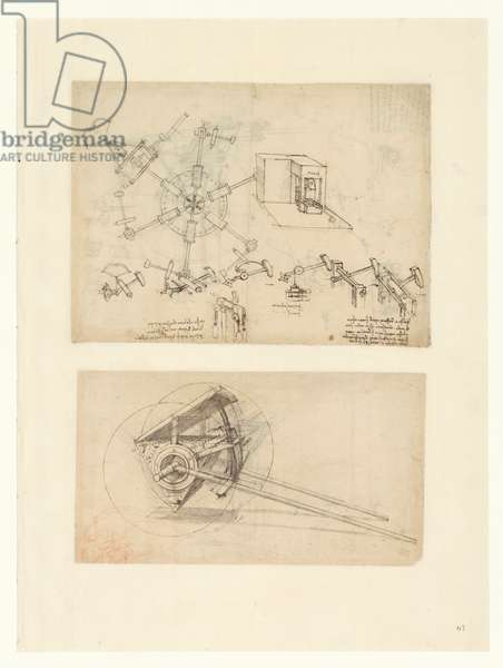 Codex Atlanticus, sheet 67 recto