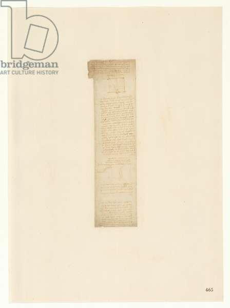Codex Atlanticus, sheet 465 recto
