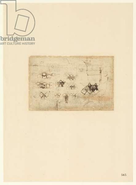Codex Atlanticus, sheet 565 recto