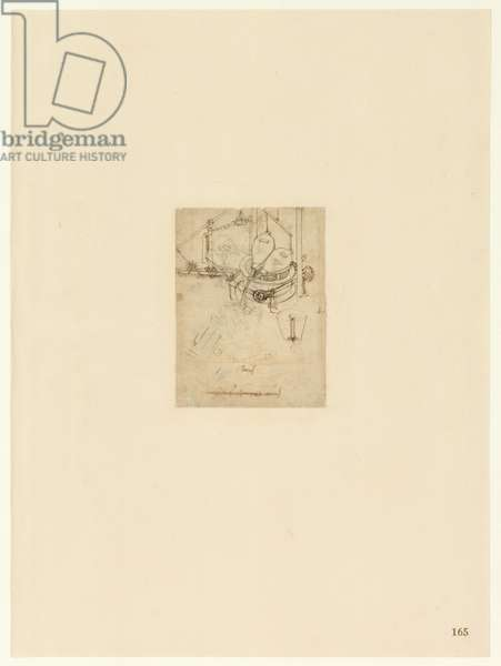 Codex Atlanticus, sheet 165 recto