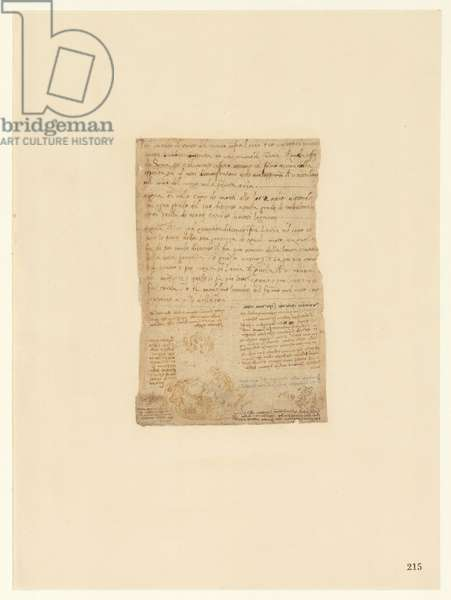 Codex Atlanticus, sheet 215 recto