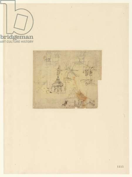 Codex Atlanticus, sheet 1115 recto