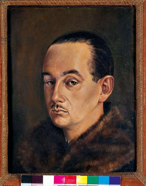 Male Portrait, 1939-45 (oil on canvas)
