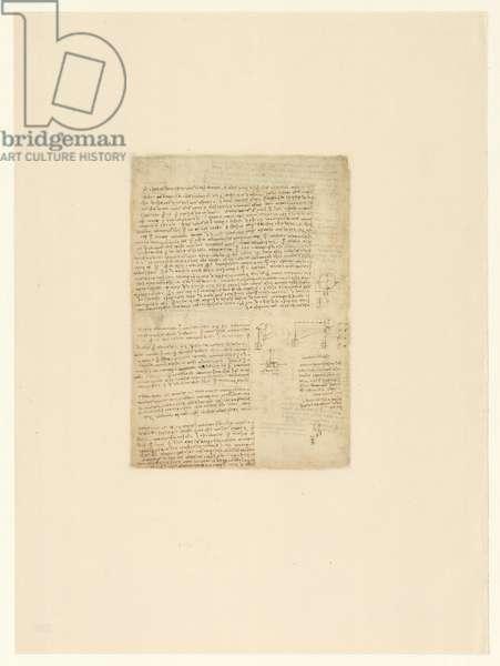 Codex Atlanticus, sheet 220 verso