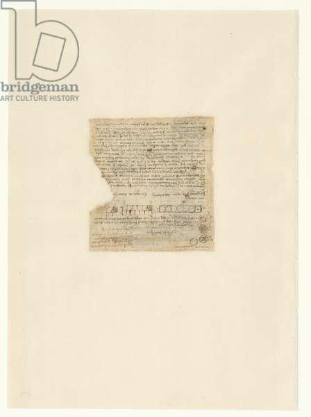 Codex Atlanticus, sheet 475 verso