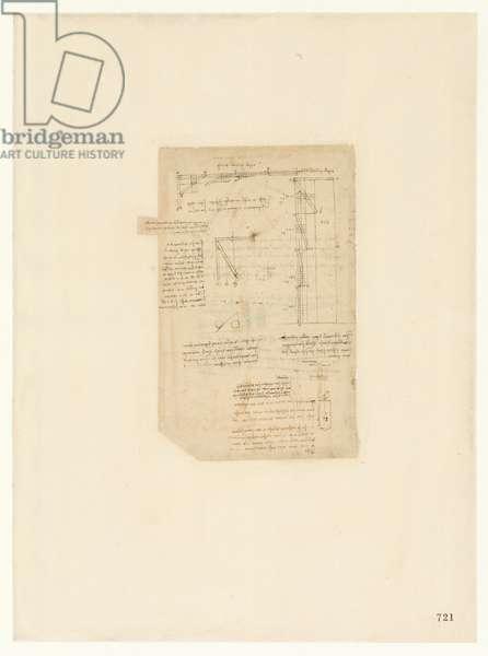 Codex Atlanticus, sheet 721 recto