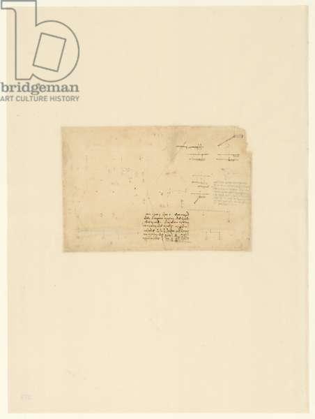Codex Atlanticus, sheet 275 verso