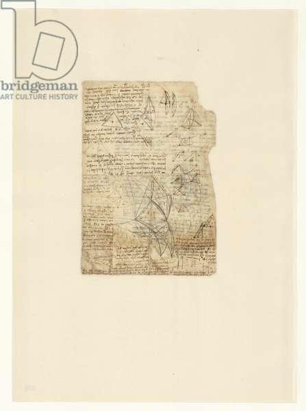 Codex Atlanticus, sheet 530 verso