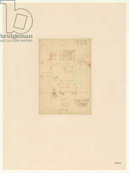 Codex Atlanticus, sheet 1076 recto