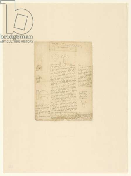Codex Atlanticus, sheet 230 verso