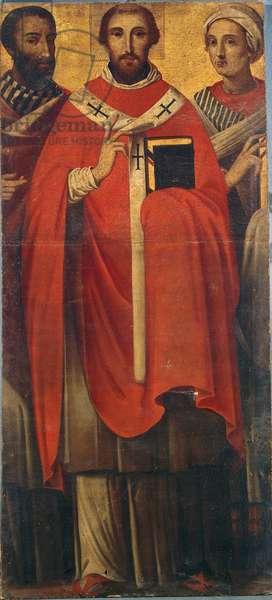 Saint Gregory the Great between His Parents