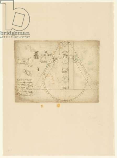 Codex Atlanticus, sheet 435 verso