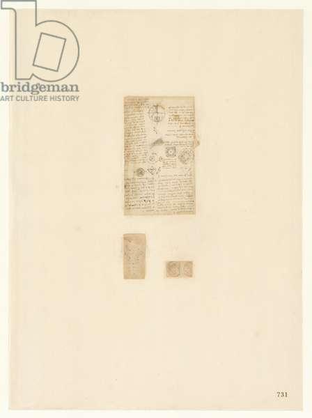 Codex Atlanticus, sheet 731 recto