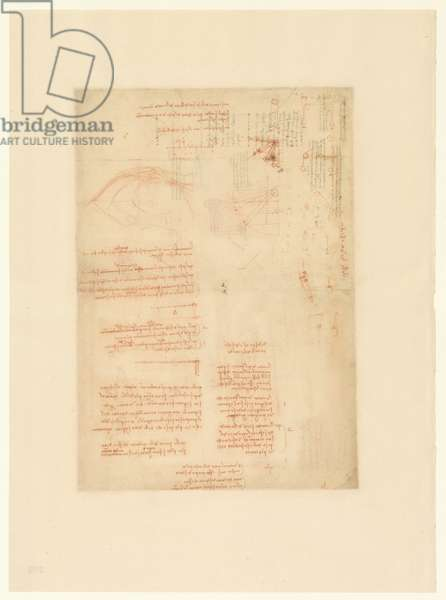 Codex Atlanticus, sheet 390 verso