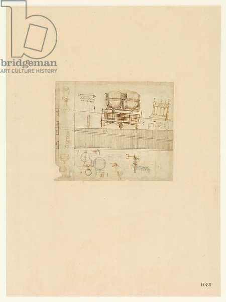 Codex Atlanticus, sheet 1085 recto