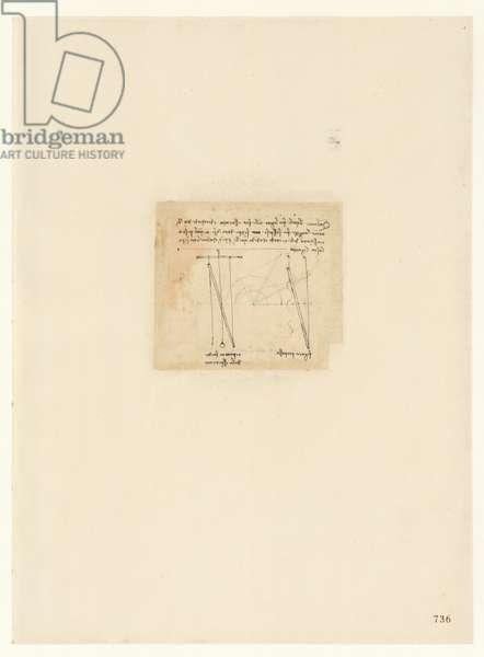 Codex Atlanticus, sheet 736 recto