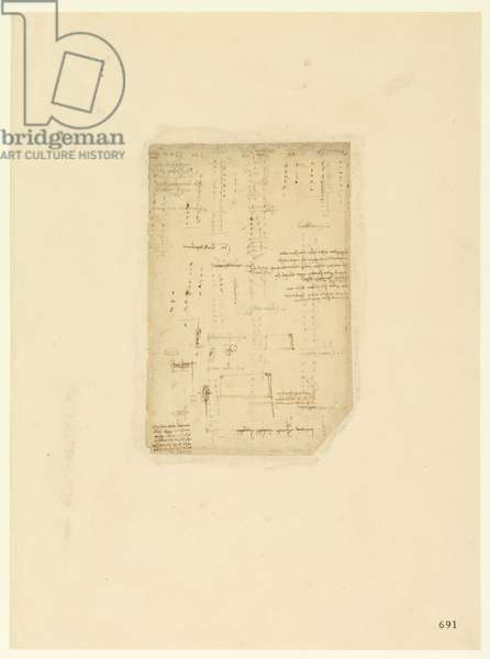 Codex Atlanticus, sheet 691 recto
