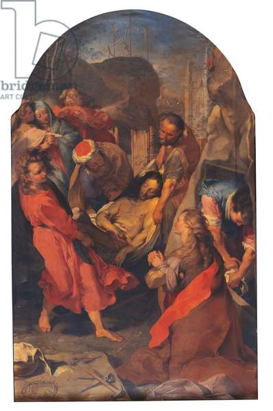 Entombment of Christ (oil on canvas)