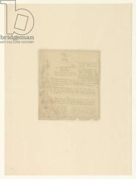 Codex Atlanticus, sheet 100 verso