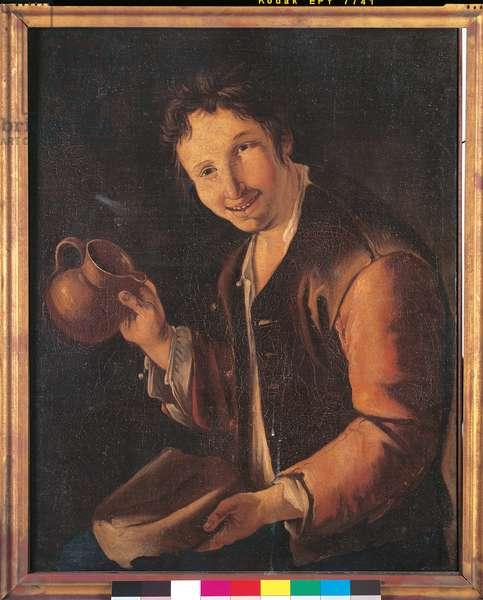 Drinker (oil on canvas)