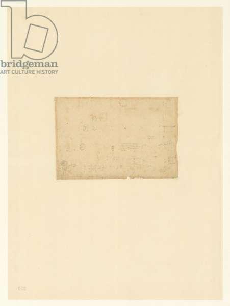 Codex Atlanticus, sheet 250 verso