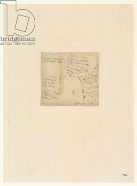 Codex Atlanticus, sheet 796 recto
