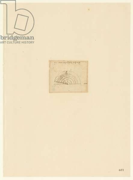 Codex Atlanticus, sheet 601 recto